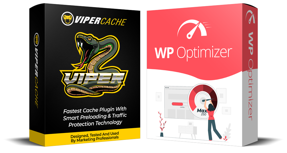 WP Optimizer & Viper Cache Bundle Special Offer